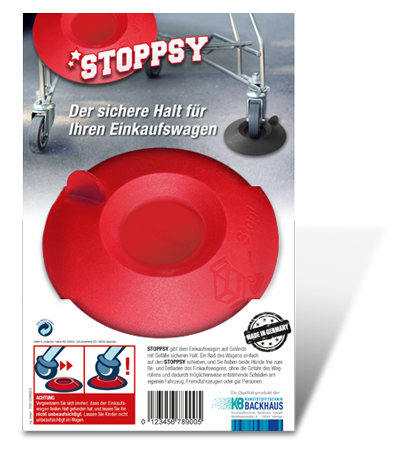 Stoppsy-Musterverpackung
